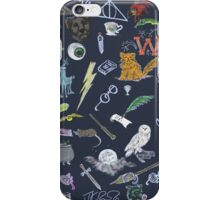 Whimsical Harry Potter in Color iPhone Case/Skin
