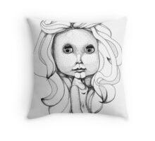 Miss Margaret Throw Pillow