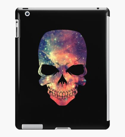 Universe - Space - Galaxy Skull iPad Case/Skin