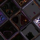 Chatan Tile Abstract  by J. Martinez
