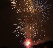 Fireworks by Chris Parker