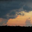 Ohio Sunset after a Storm by dylangould