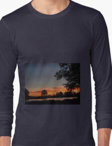 A walk at dusk Long Sleeve T-Shirt