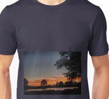 A walk at dusk Unisex T-Shirt