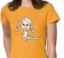 Josie: Beach Bum Womens Fitted T-Shirt