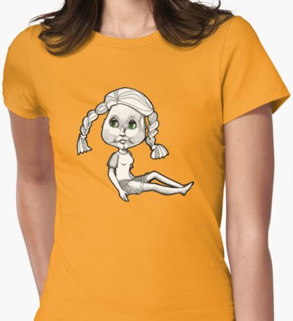 Josie: Beach Bum Womens Fitted T-Shirt