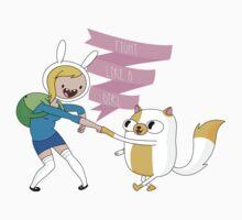 Fight Like a Girl: Fionna + Cake Kids Clothes
