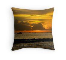Perfect Sunset Throw Pillow