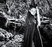 Little Witch of the Woods by chelonisphoto