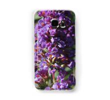 Purple Stalk Flowers Samsung Galaxy Case/Skin