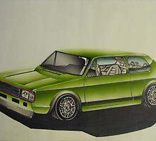 VW CARIBE  GTI 1987 by thekornerstone