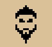 Retro Khal Drogo by daveypixel
