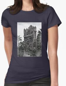 Tower of Terror Womens Fitted T-Shirt