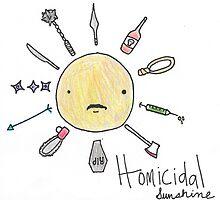 Fake Band Names: Homicidal Sunshine by finesimmer