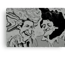 The Two Stooges Canvas Print