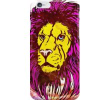 Lion Modern Pop Colors - T Shirt Prints and Stickers iPhone Case/Skin