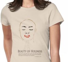 Beauty of Holiness Womens Fitted T-Shirt