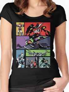 Super Robots Women's Fitted Scoop T-Shirt