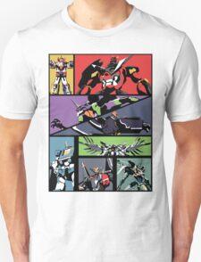 Super Robots Unisex T-Shirt