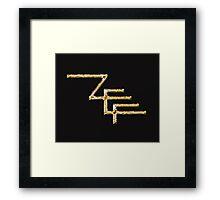 Zef 11 Framed Print
