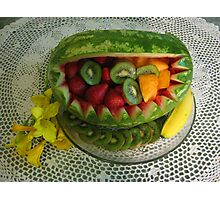 Watermelon Picnic Photographic Print