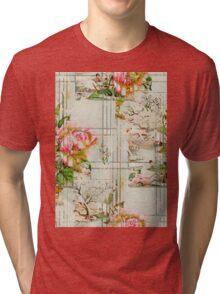 Dusty Rose Tri-blend T-Shirt