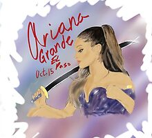 Ariana Grande FanArt by AMAnimeArt