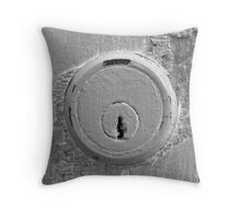 Keyhole Throw Pillow