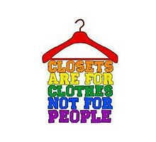 Closets are for clothes by ljanz1