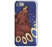 Howling Werewolf iPhone Case/Skin