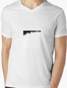 SCREEN TONE- Gloom Mens V-Neck T-Shirt