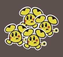 Pikachu Chu Rocket One Piece - Short Sleeve