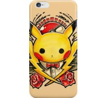 Pikachu Flash  iPhone Case/Skin