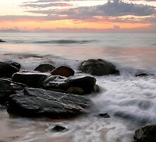 Dawn at Lamberts Beach 3 by AnnieD