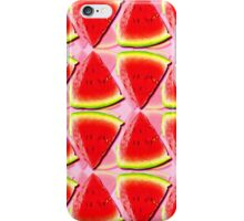 Juicy Watermelon Triangles Abstract iPhone Case/Skin