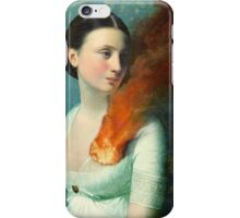 Portrait of a heart iPhone Case/Skin