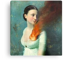 Portrait of a heart Metal Print