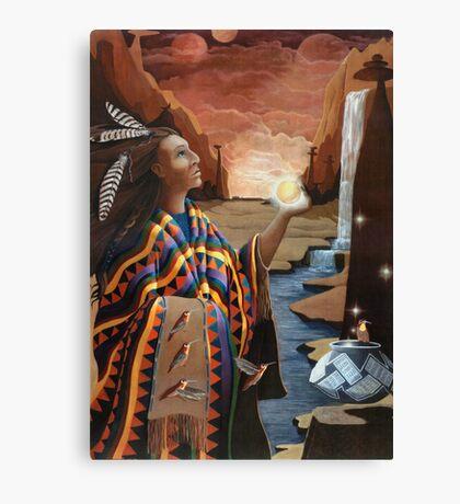 Earthgate -spiritual oil painting Canvas Print