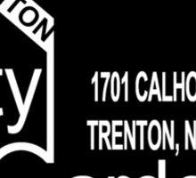 City Gardens - Punk Card Tee Shirt (v. 2.2) Sticker