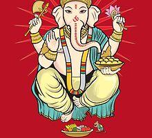 Lord Ganesha by Hiram Cruz