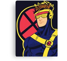 X-Men vintage Cyclops 1990s  Retro Canvas Print
