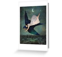 fly me to paris Greeting Card
