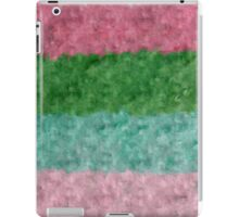 The muted colors of that 1970's hook rug iPad Case/Skin