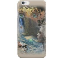 Lady in the Water iPhone Case/Skin