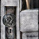 Vintage door by Sheri Nye