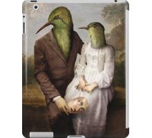 The Hummingbirds iPad Case/Skin