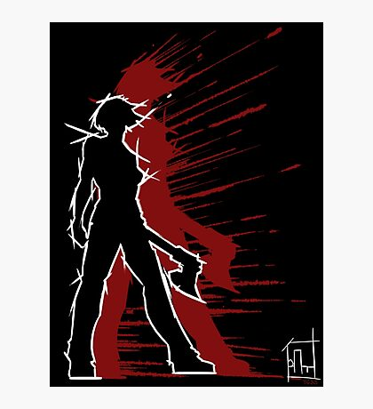 YGSS – Axe Vengeance Red Photographic Print