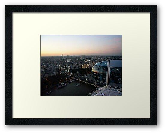 Sunset Eye by EileenFrith
