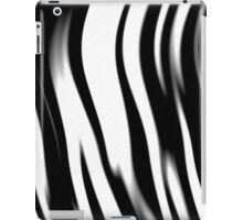 Zebra Stripes Faux Animal Fur iPad Case/Skin
