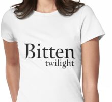 Bitten Twilight T-Shirt Womens Fitted T-Shirt
